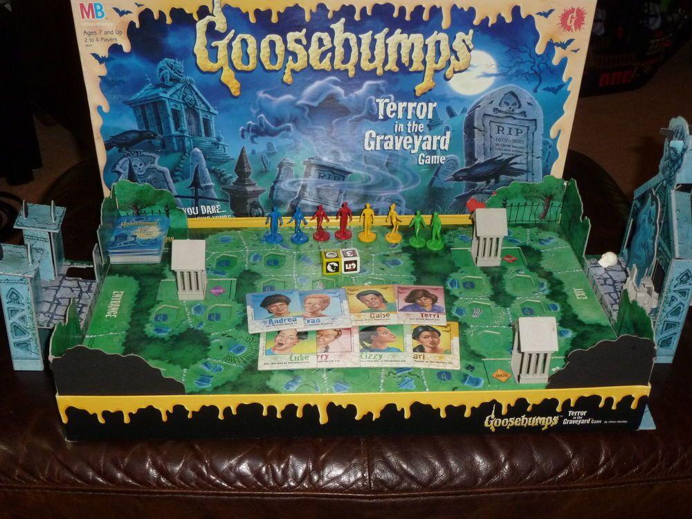 Goosebumps Terror in the Graveyard board game Vintage