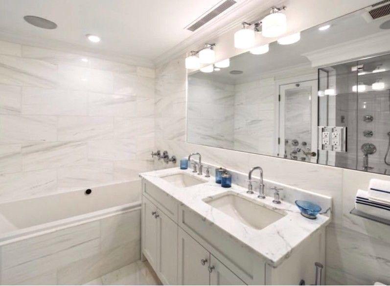 Details About Bianco Dolomite Marble 24x24 Polished Tile