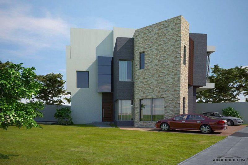 تصميم فيلا منازل جدة ساحة الارض 420 M 2 مساحة مسطح البناء 435 M 2 Villa Design House Styles Design