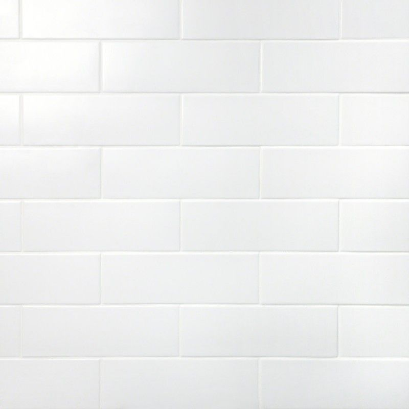 London White 3x9 Ceramic Tile Ceramic Subway Tile Subway Tile Ceramic Wall Tiles
