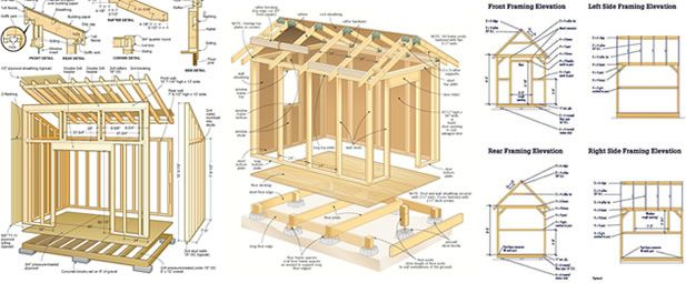 17 Best 1000 images about How to build a garden shed DIY Shed plans
