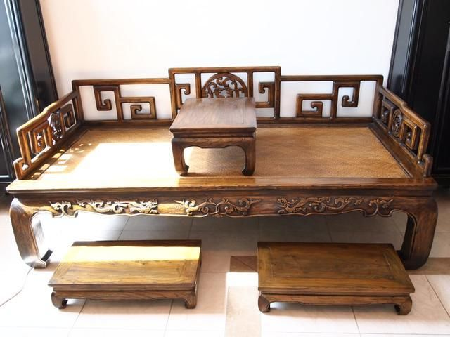 Chinese Houten Bed : Chinese style day bed looking for a daybed for my living room