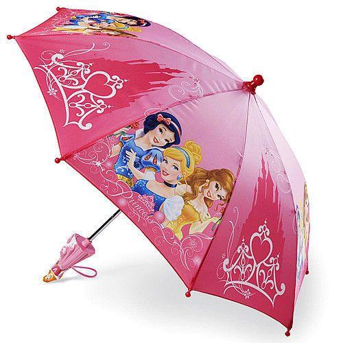 Disney PRINCESS UMBRELLA Pink Princess Doll Handle Personalized Free