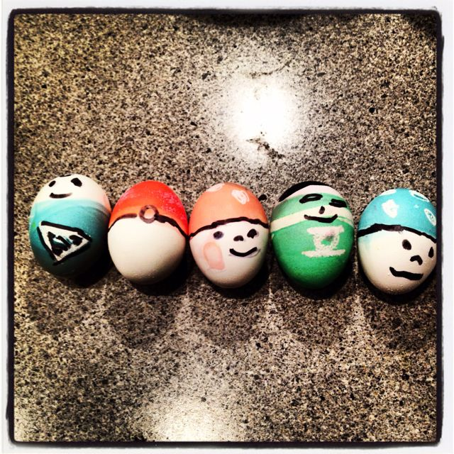 My not-too-terrible attempt at geek eggs.