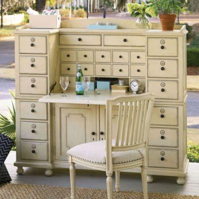 Universal Furniture Paula Deen Riverhouse Earls Cabinet In River Boat Finish