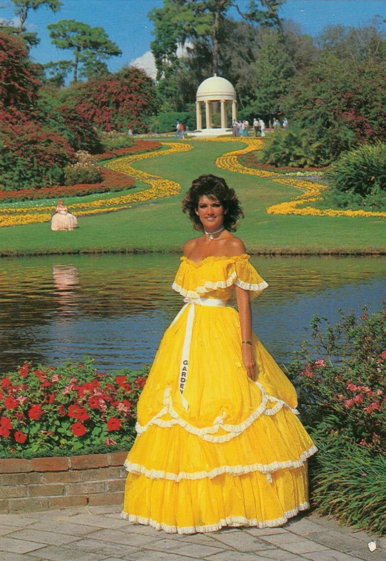 one of the southern belles at cypress gardens past - Cypress Gardens Nursing Home