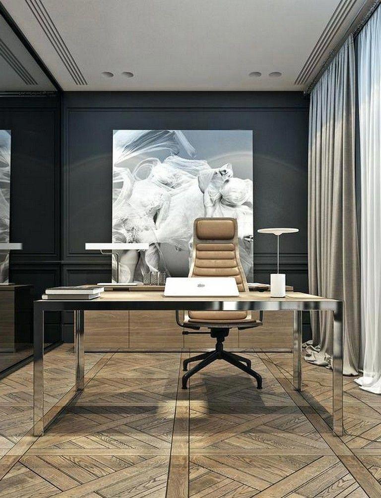 34 Luxury Modern Home Office Design Ideas Homeoffice