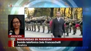 Paraguay: golpe y aumento de violencia
