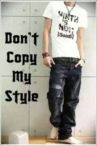 Download Free Dont Copy My Style Iphone Wallpaper Mobile Wallpaper
