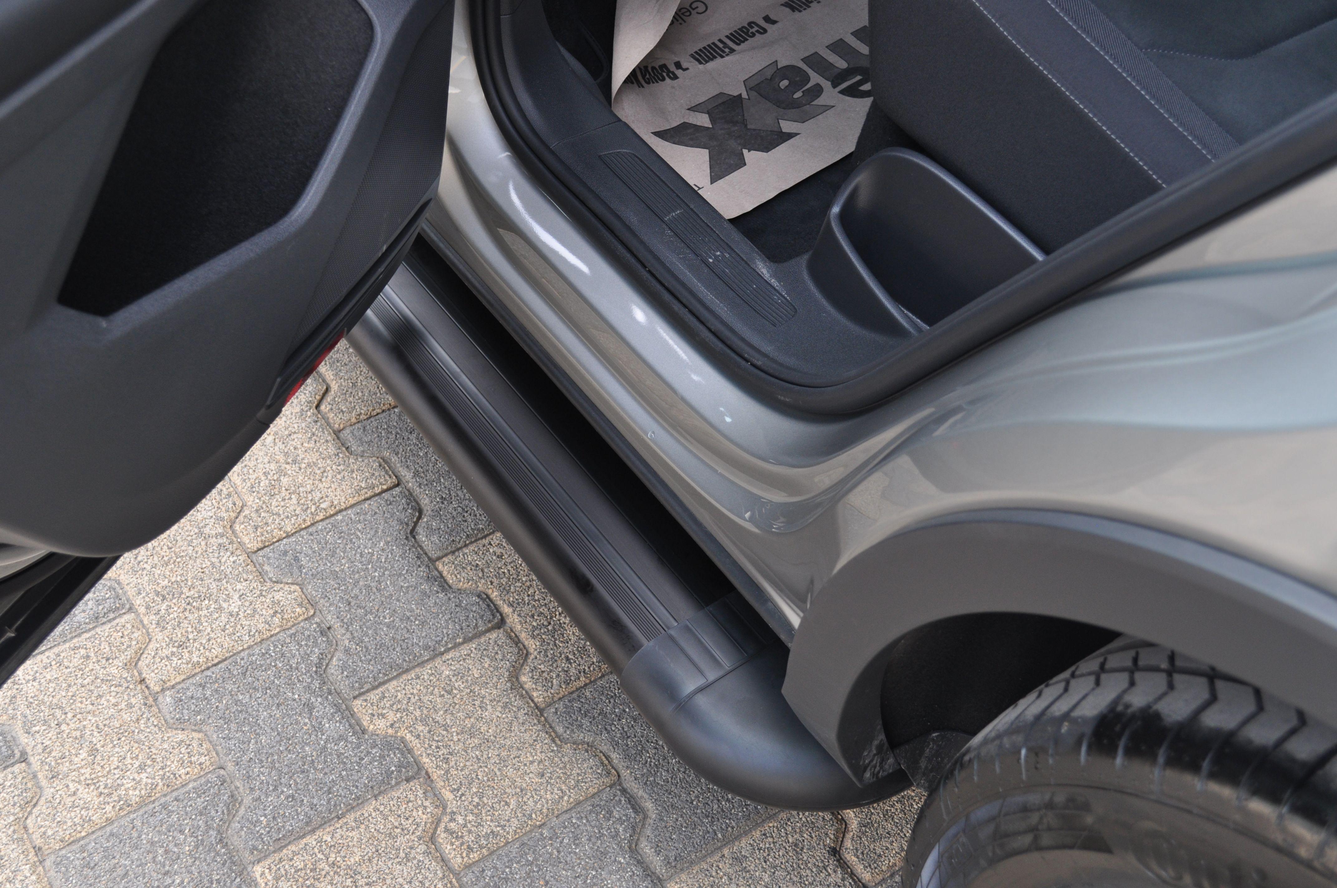 Side Steps Volkswagen Tiguan 16 Present Arp Pegas Black Black