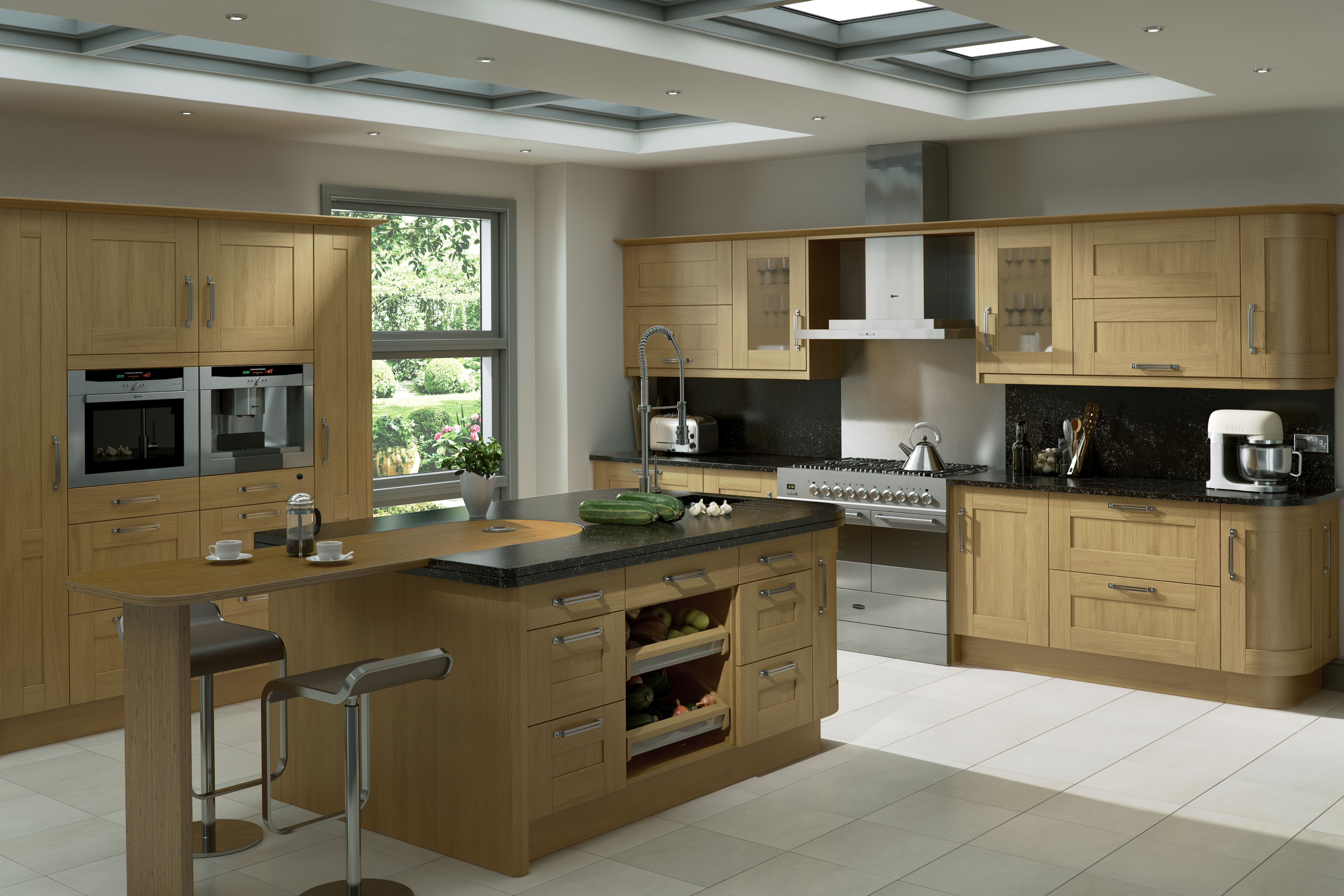 A Innova Linwood Kitchen With Simple Shaker Styling Http Innova Kitchens C