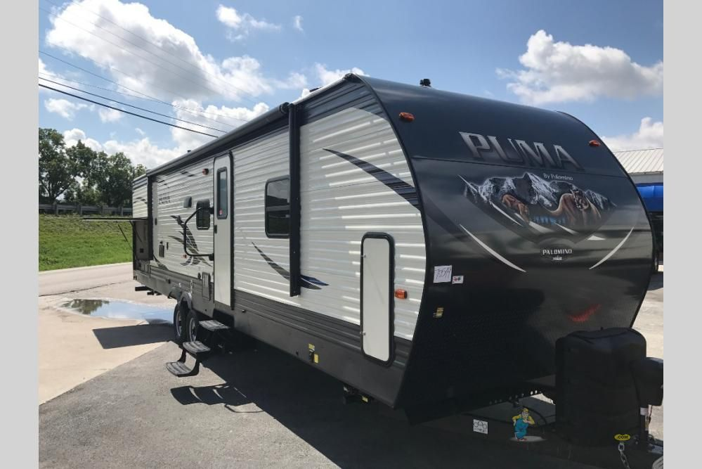 New 2018 Palomino Puma 32rbfq Travel Trailer At Big Daddy Rvs On
