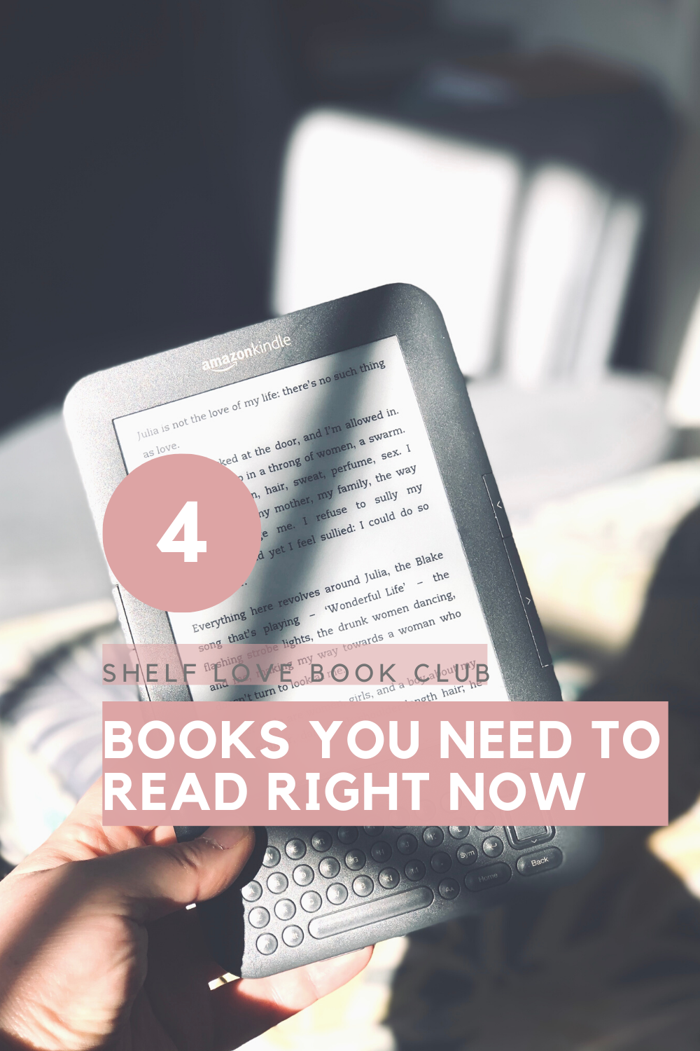 4 great books you have to be reading. #book #newbooks #booklist #whattoread #readinglist #toberead #tbr