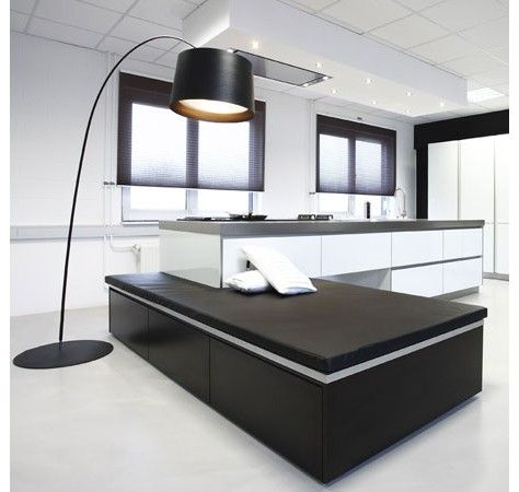 Best Very Modern White And Black German Kitchen Design 400 x 300