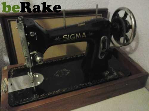 Vendo Maquina de coser sigma fabricada por estarta y ecenarro s.a. elgoibar muy antigua, del año 1938, en muy buen estado... (antiguedad, especial para coleccionistas)......