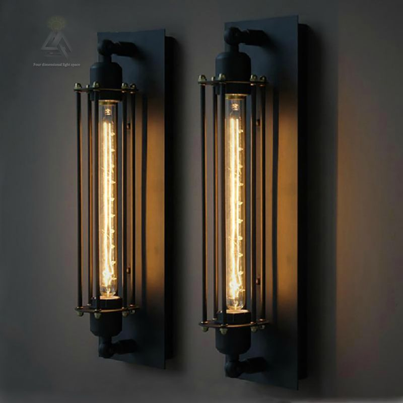 Loft vintage led wall lamps american industrial wall light edison loft vintage led wall lamps american industrial wall light edison light 40w e27 bedside wall fixtures home decoration lighting mozeypictures Image collections