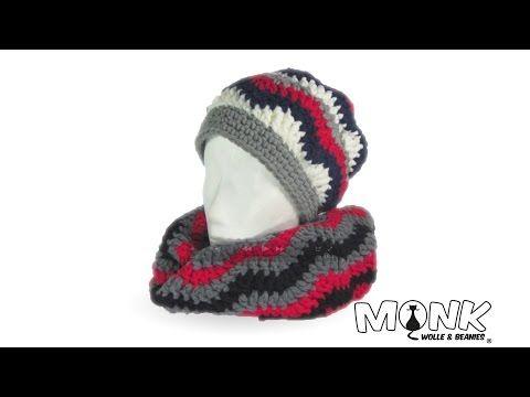 Zick Zack Loop Häkeln Youtube Crochet Pinterest