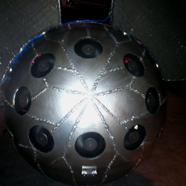 Deadmau5 digital Head replica, back side