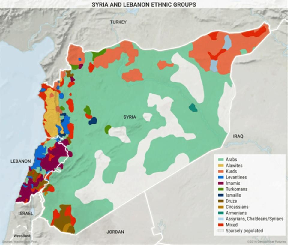 7 Maps That Explain the Middle East Middle and Middle east - best of world map hungary syria