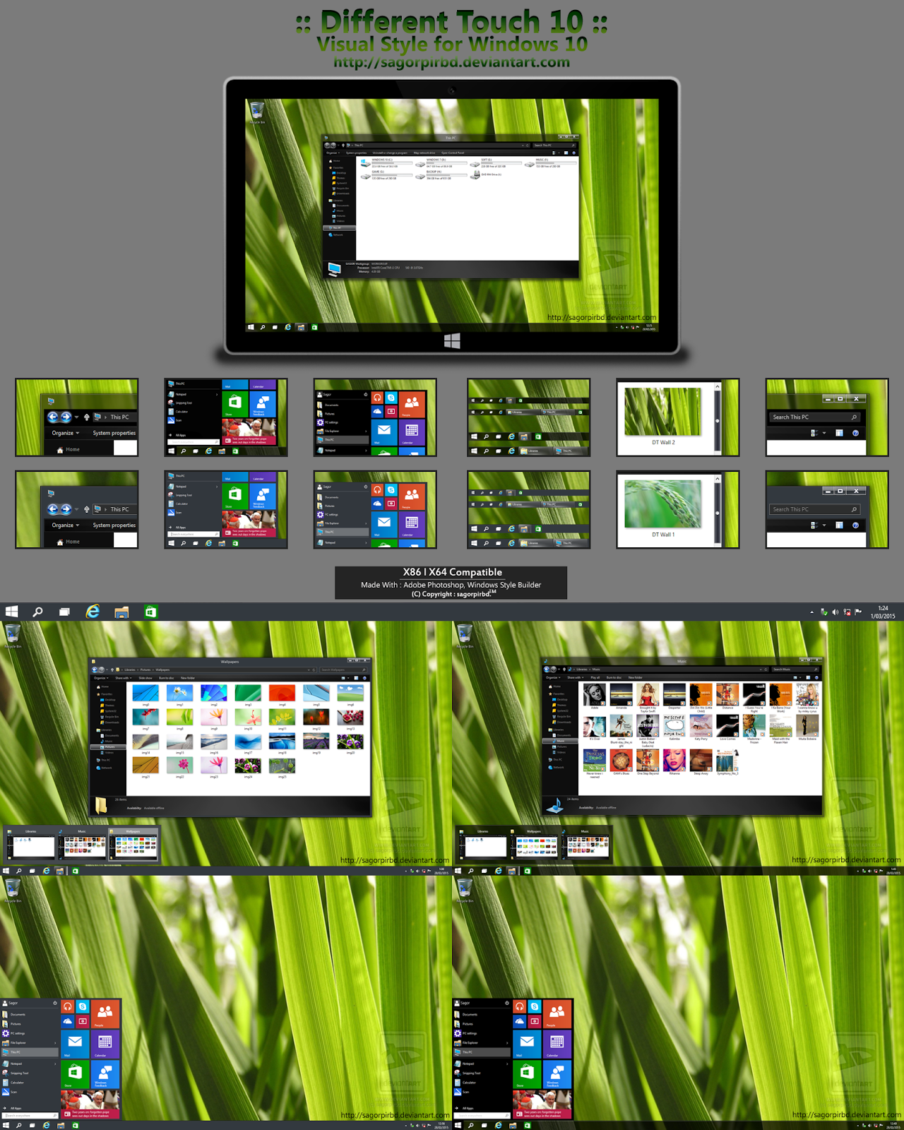 Pin by Cleodesktop on Theme Windows 10 Windows 10