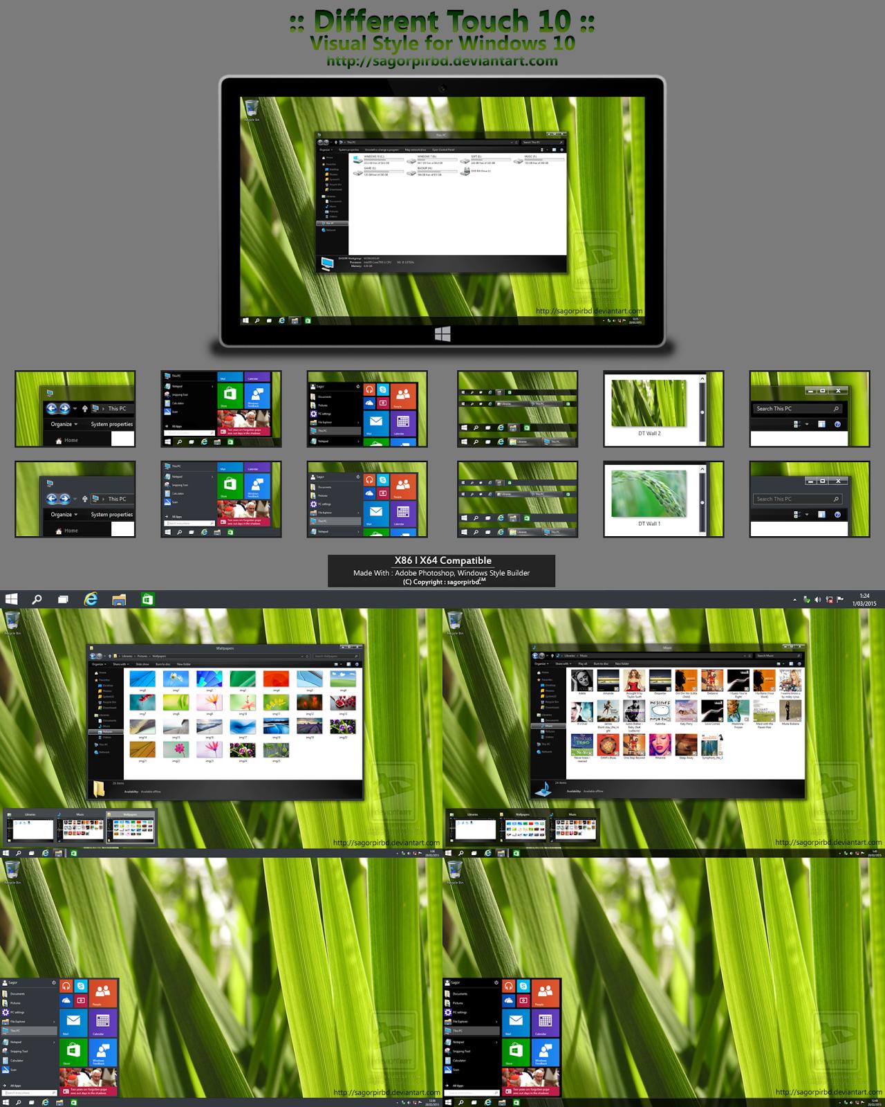Pin by Cleodesktop on Theme Windows 10 Windows 10