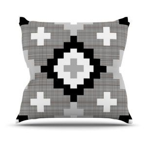 Outdoor Pillows in Black and White Styleboard by Backyard & Garden