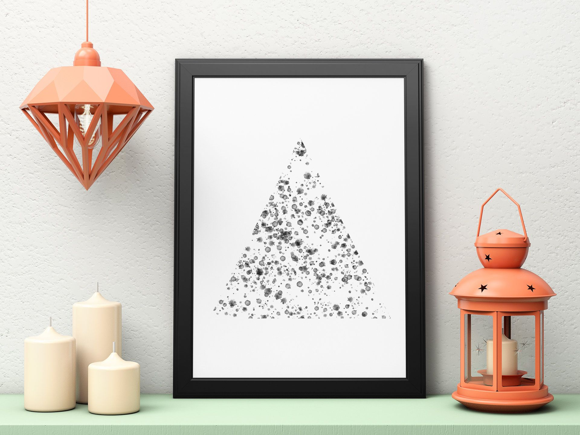 Geometric Art, Black And White, Minimalist Art, Geometric Print Art,