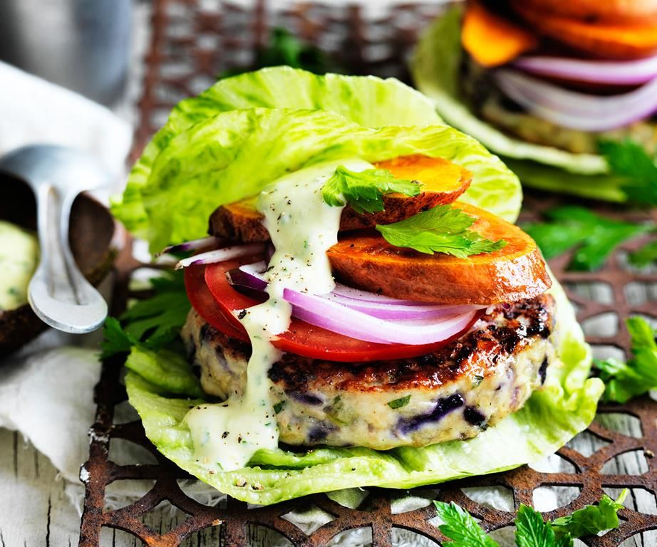 The green turkey burger | Recipe | Turkey burger recipes ...