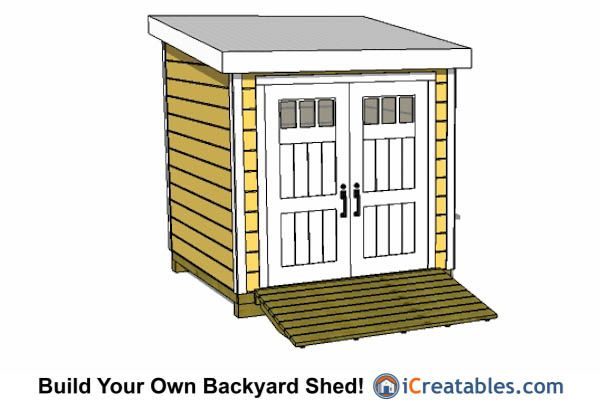 Do It Yourself Home Design: Our Simple 8x8 Lean To Shed Plans Are Easy To Follow So