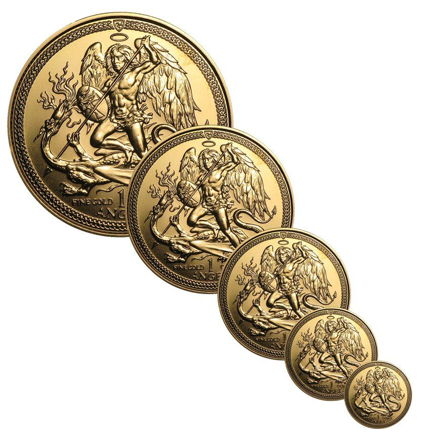 Isle Of Man Gold Angels Gold Coin Price Gold Coins Gold Bullion