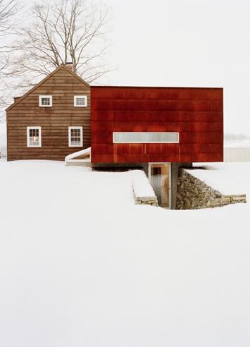 Hudson Valley rental house.