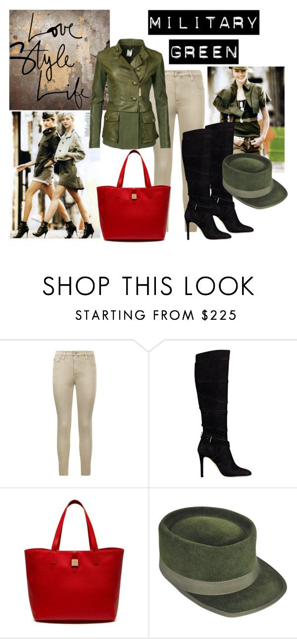 """Work It"" by isyasyamk on Polyvore featuring AG Adriano Goldschmied, GUESS, Mulberry, Larose and Gogreen"