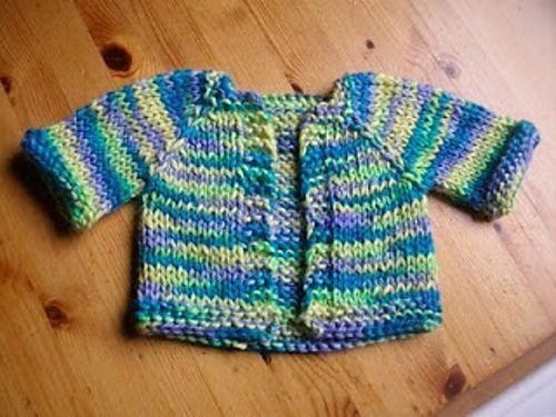 Chunky Alpaca Baby Jacket | Baby jackets pattern, Baby ...