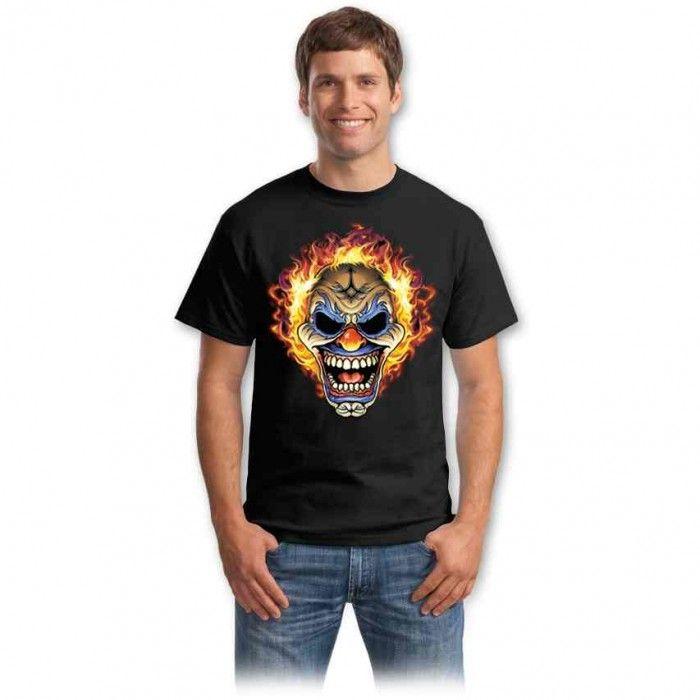 Tricouri cu cranii – Tricou Craniu clown