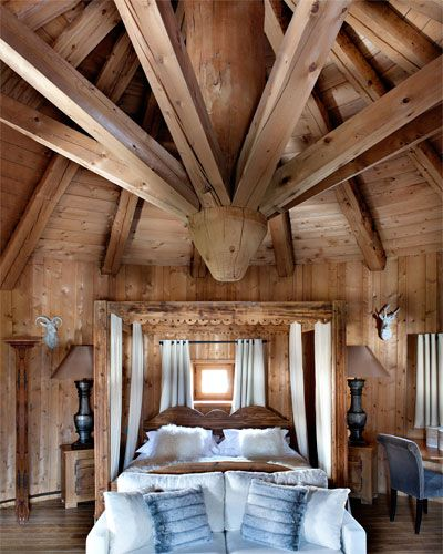 Rustic Interiors, Chalet Design, Chalet Chic