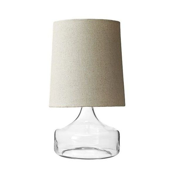 midcentury lighting. West Elm Perch Table Lamp - Clear ($79) ❤ Liked On Polyvore Featuring Home, Lighting, Lamps, Mid Century Lamp, Midcentury Centu\u2026 Lighting M