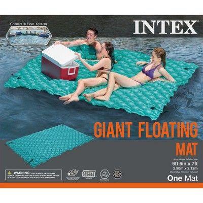 Intex Giant Inflatable Floating Swimming Pool Lake Mat