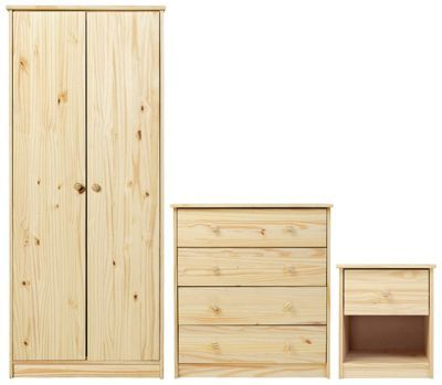 Home New Malibu 4 Piece Bedroom Package Beech Effect 2