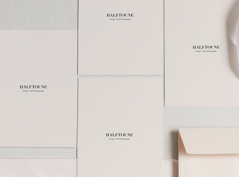 Card mockupinvitation card mockuppale pinkpink envelope
