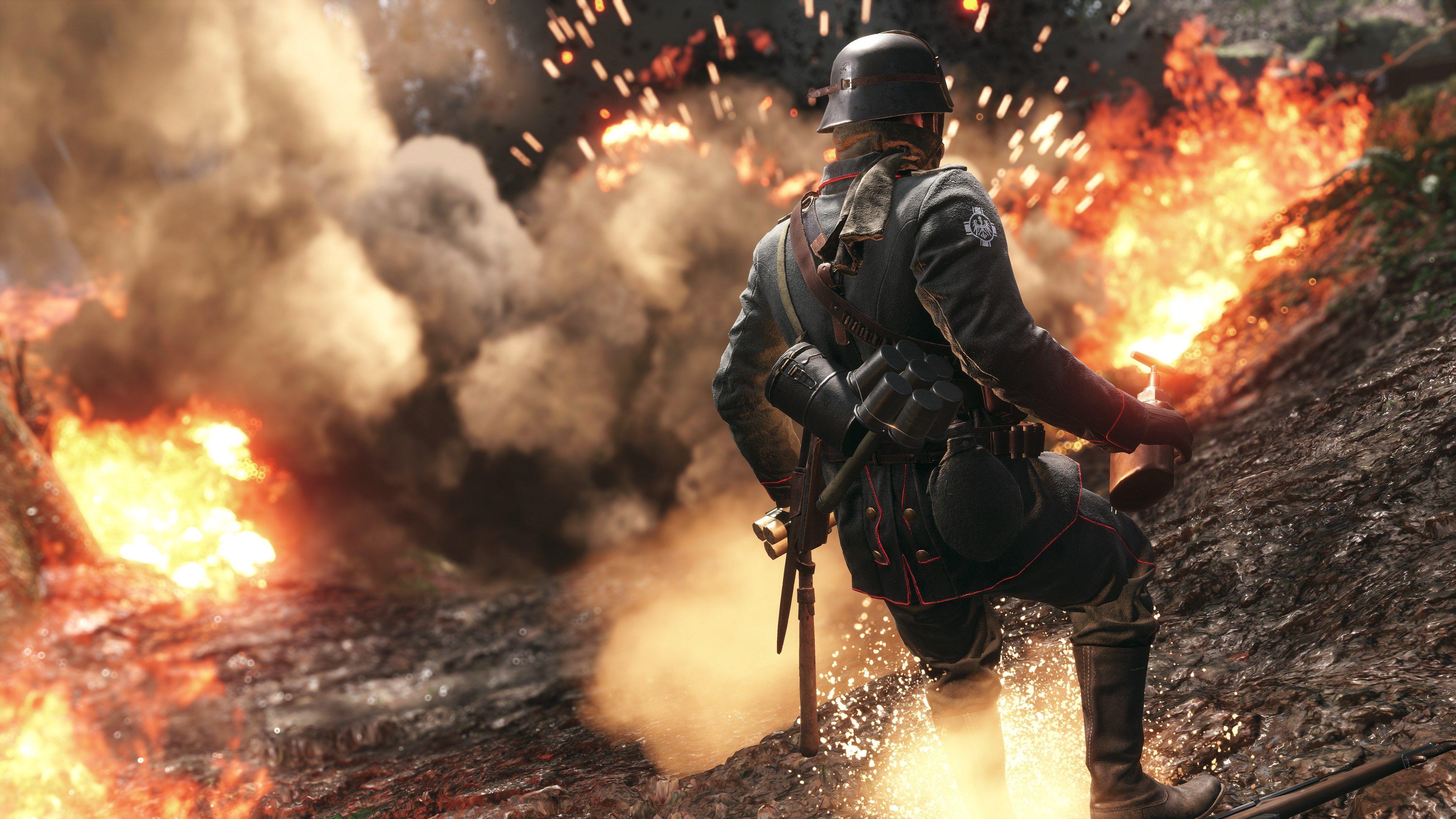 High Resolution Wallpaper Battlefield 1 Battlefield 1 Campo De Batalha Jogos