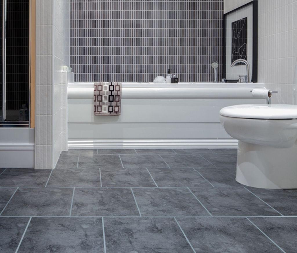 21 Bathroom Tile Ideas | Interior God | Grey bathroom floor, Bathroom  flooring, Bathroom flooring options
