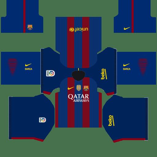 Barcelona Home Kit Esportes Bola