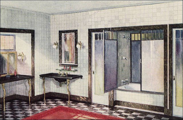 Photo of 1925 Crane Bathroom