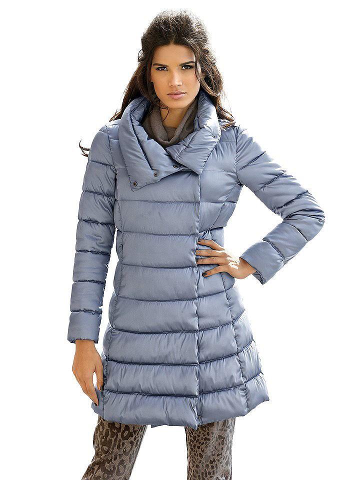 promo code aecba 4743b 4057997025291   #Rick #Cardona #Damen #Steppmantel #blau ...