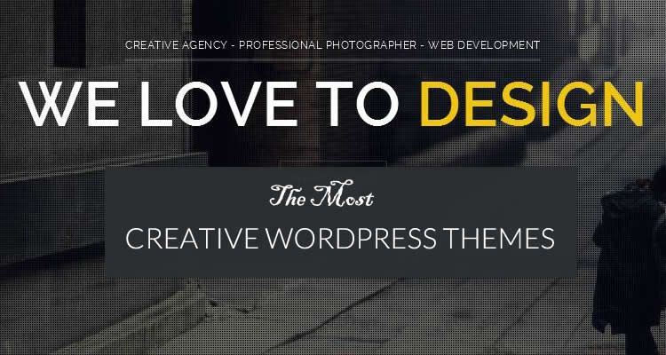 The 14 Most Beautiful & Creative WordPress Themes 2016