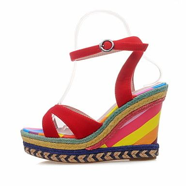 Women's Shoes Wedge Heel Wedges / Peep Toe Sandals Party & Evening / Dress  / Casual