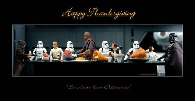 Happy Thanksgiving Star Wars Action Figures Star Wars Humor Happy Thanksgiving