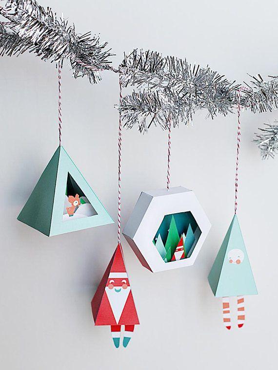 free christmas paper crafts ss42com - 570×760