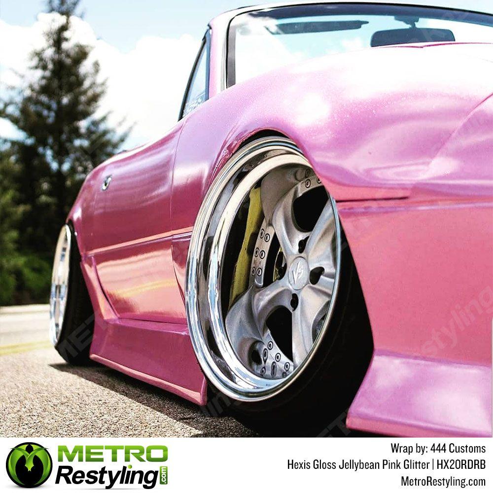 Hexis Jelly Bean Pink Vinyl Wrap Metro Restyling Vinyl Wrap Car Vinyl Wrap Vinyl