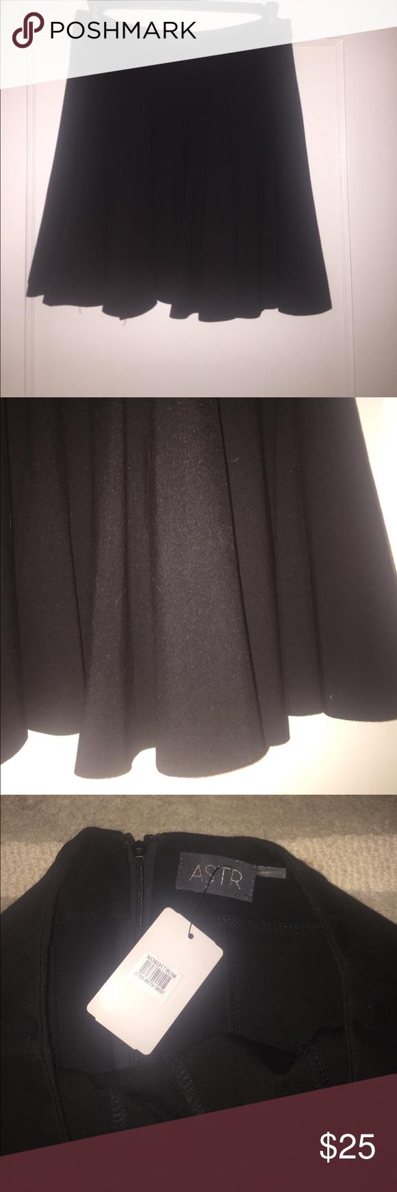 New ASTR black skater skirt From Nordstrom ASTR Skater skirt Astr Skirts Circle & Skater